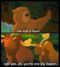 Love this movie! #brother bear #canadian #moose #disney quotes ... via Relatably.com