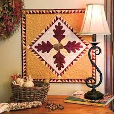Friday Free Quilt Patterns: Acorn Autumn Wall Hanging | McCall's ... & Friday Free Quilt Patterns: Acorn Autumn Wall Hanging | McCall's Quilting  Blog Adamdwight.com