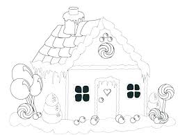 Gingerbread Coloring Pages For Preschoolers Gingerbread Coloring