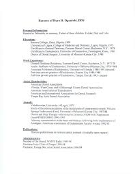 Cover Letter Orthodontist Resume Assistant Template For Objective