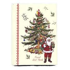 Christmas Card Mailing List Amazon Com Christmas Card Address List Record Book With