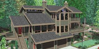 10048 view house plans sloping lot house plans multi level house plans luxury