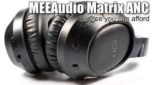 Video review of <b>MEEAudio Matrix Cinema</b> with active noise cancelling