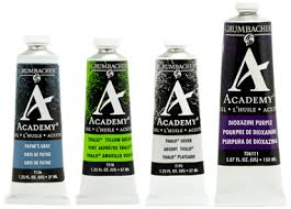 Academy Oil Grumbacher Art
