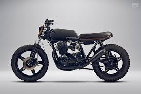 scandinavian noir a blacked out cb650 from sweden bike exif