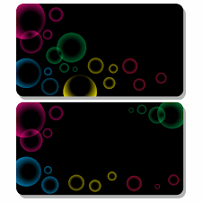 vector for use gift card bubbles gift card bubbles gift card template