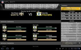 Official Nfl App Comes To Honeycomb Tablets For The 2011 Season