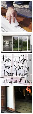 cleaning clean your sliding door tracks cleaning s cleaning tips clean home
