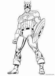 Captain America Winter Soldier Coloring Pages Topcoloring