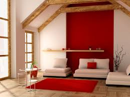 Esszimmer Gestalten Wände : Rote wand esszimmer ziakia