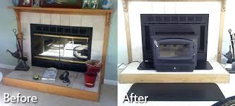 gas fireplace door clean gas fireplace glass doors