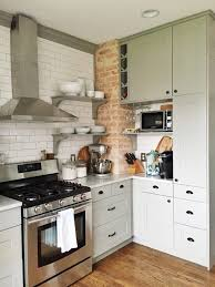 Amazing DIY kitchen renovation with IKEA cabinets, open shelving, and subway  tile. This