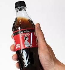 Buy Coke Light Online This Cool Oled Star Wars Coke Bottle Sports A Glowing