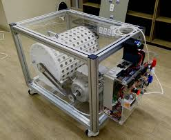 our invention consists of two parts an electric motor and white magnetic generator the motor is used to run the magnetic generator up to 1500 rpm and then