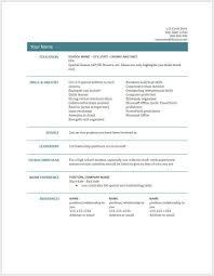 Curriculum Vitae Google Docs Template Kc Garza