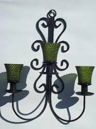 wall hanging candle holders chandelier
