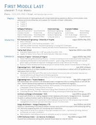 Elevator Mechanic Sample Resume Elevator Resume Sample Fresh Elevator Mechanic Sample Resume 15