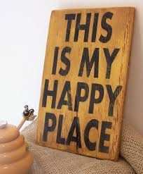 rustic wood sign idea with inspirational e