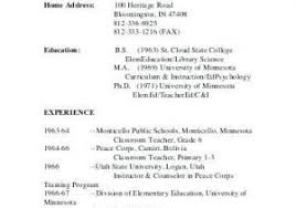 Peace Corps Resume From Resume Templates Free Resume