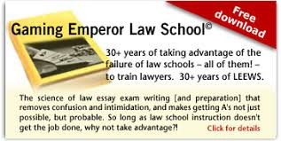 law essay exam writing system