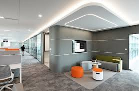 Modern office designs photos Real Estate Office Lounge Area At Aptivs Shanghai Offices Features Many Turnstone Products Including Campfire Lounge Seating Turnstone Our Favorite Modern Office Designs Of 2018 Turnstone Furniture