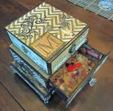 Decorating Cigar Boxes Decorated Cigar Boxes Decorated Cigar Boxes Altered Cigar Box 42