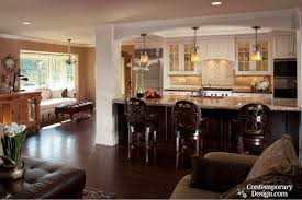 Open Kitchen Dining Living Room Open Kitchen And Living Room Paint Ideas Nomadiceuphoriacom