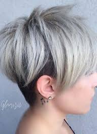 short hairstyles for women with thin fine hair layered pixie cut