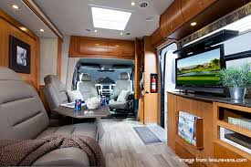 Incredible interior design ideas for your rv camper Airstream Leisurevanunityinterior Mountain Modern Life The Best Small Rvs Living Large In Small Space