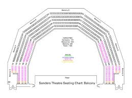Jordan Hall Seating Chart Sanders Theatre Seating Charts Office For The Arts At Harvard