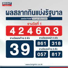 ตรวจหวย 16 กุมภาพันธ์ 2564 ผลสลากกินแบ่งรัฐบาล รางวัลที่ 1 คือ 424603