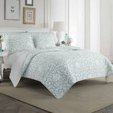 Quilts & Quilt Sets You'll Love | Wayfair & Mia 100% Cotton Quilt Set by Laura Ashley Home Adamdwight.com