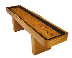 Old Wooden Game Boards Furniture Antique Brown Wooden Traditional Game Shuffleboard 86