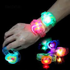 <b>LED</b> Glowing Wristband Bracelet <b>Light Flashing</b> Kids Toy Children ...
