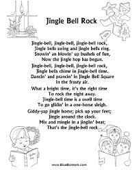 BlueBonkers: Jingle Bell Rock, Free Printable Christmas Carol ...