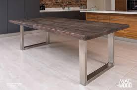 modern kitchen table. The \u201cSignature\u201d Design By Mac+Wood. Reclaimed Wood Kitchen Table Modern