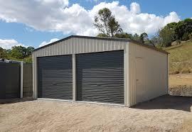 Design Garages West Gosford Double Garage Shed In 2019 Garage Shed Garage Garage Doors