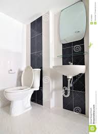 Small Simple Bathroom With Sink And Toilet Stock Photo Image - Simple bathroom