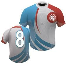 picture of bespoke rugby shirt