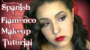 spanish flamenco dancer inspired makeup tutorial landmakeup you