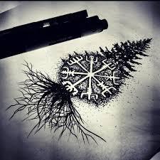 Vegvisir Tetování Tetování Návrhy Tetování A Keltské Symboly