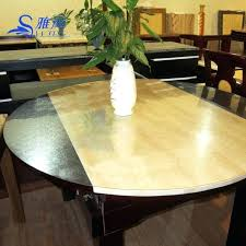 transpa dining table covers transpa dining table