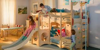 bunk beds with slide and swing.  Slide To Bunk Beds With Slide And Swing