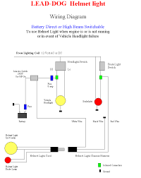 helmet light wiring instructions click this image to enlarge the battery wiring diagram