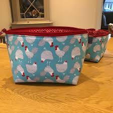 Moda Fabric Designers Fabulous Cosmetic Bags Made By Letty Ashworth And Using Farm