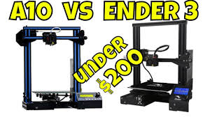 ENDER 3 vs GEEETECH <b>A10</b> - YouTube
