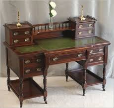 antique victorian mahogany writing desk 4018 for