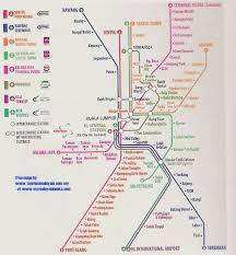 malaysia map maps of malaysia by mymalaysia books Lrt Map Pdf map of kuala lumpur lrt map kuala lumpur