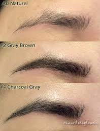 eyebrow shading drawing. etude house drawing eye brow swatches @iamcherrylemon eyebrow shading d