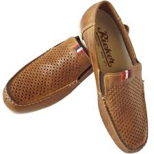 mens comfortable summer loafers in tan leather
